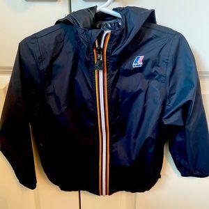Boys K-Way Windbreaker Jacket